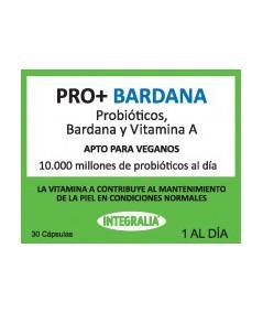 Probióticos, Bardana y Vitamina A 30 cápsulas