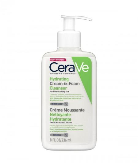 CeraVe Limpiadora Crema-Espuma Hidratante